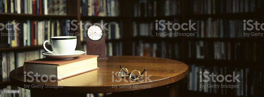 Library Room royalty-free stock photo