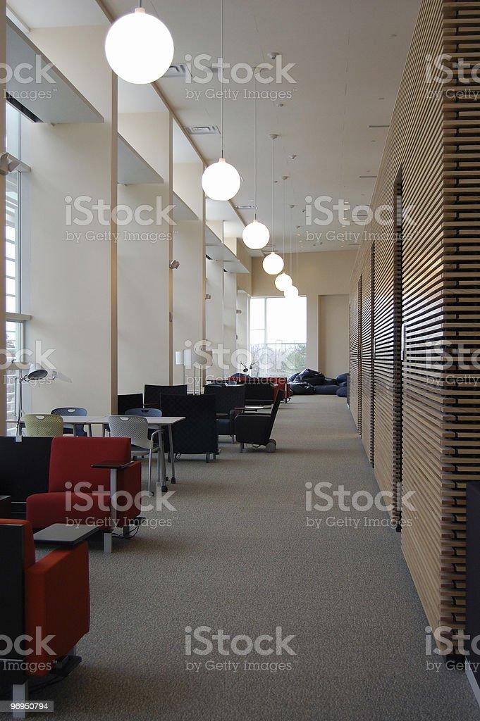 Library study area royalty-free stock photo
