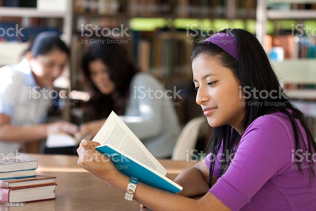 Library study royalty-free stock photo