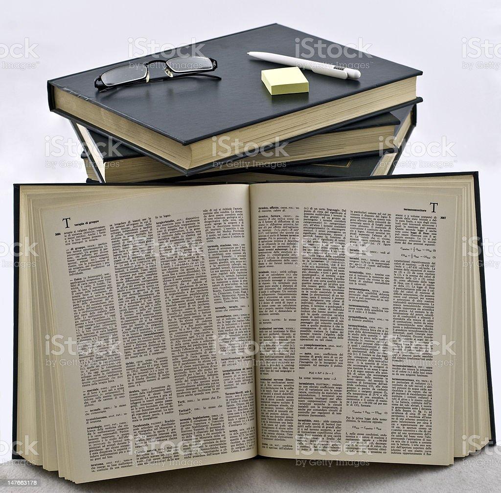 libri e lettura stock photo
