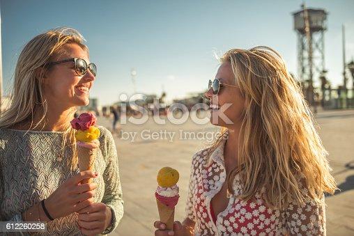 istock Licking an ice cream 612260258