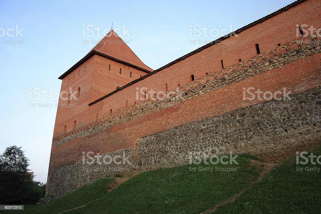 Lida Castle, Belarus stock photo