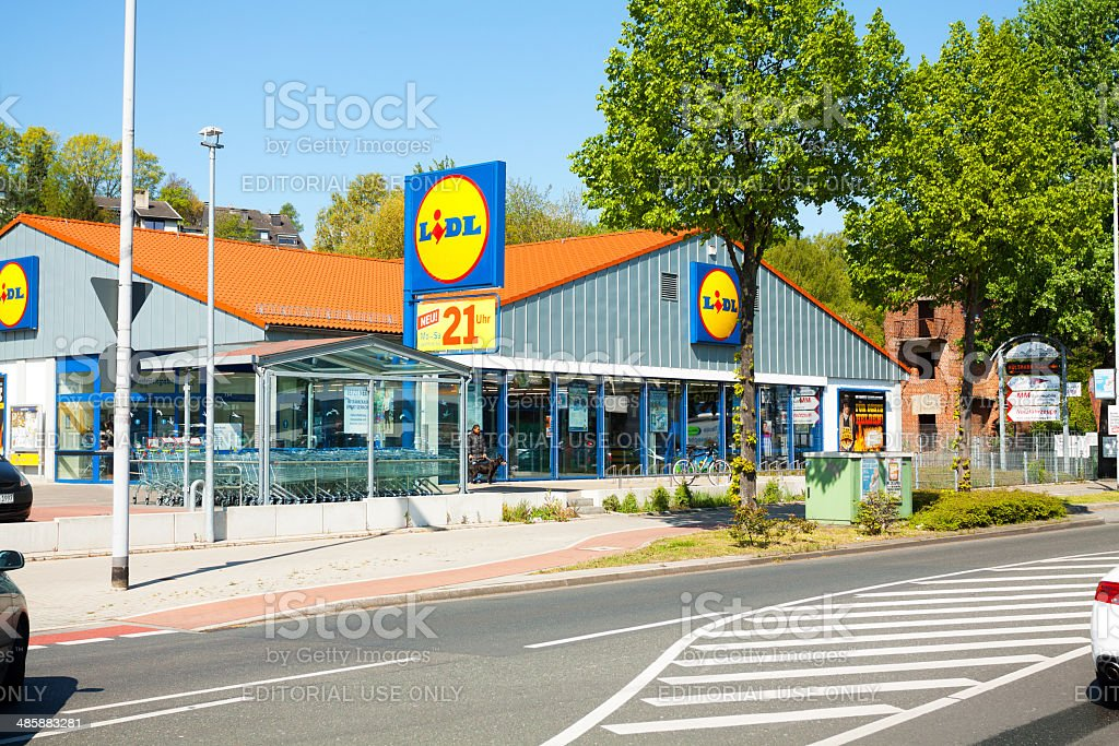 Lidl-Supermarkt – Foto