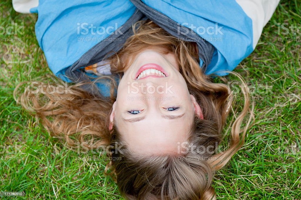 Lie Back and relax royalty-free stock photo