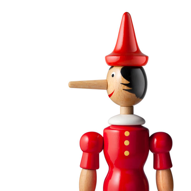 Lie. Pinocchio. Lie. Pinocchio  on white background. Photo with clipping path. pinocchio stock pictures, royalty-free photos & images