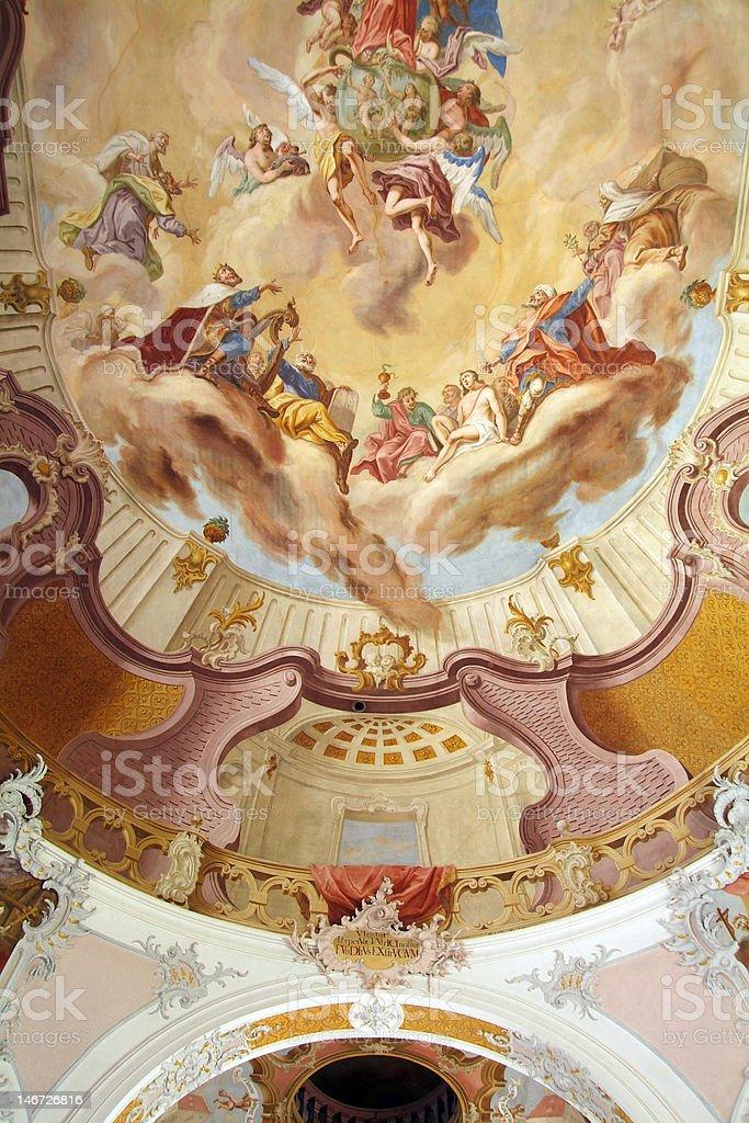 Liebfrauenkirche stock photo