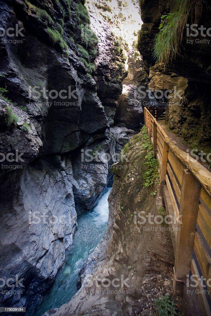 Liechtensteinklamm Gorge royalty-free stock photo