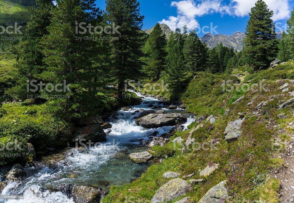 Lienz Dolomites - Austria stock photo