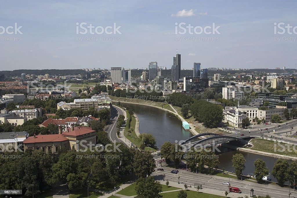 Liethuania, Vilnius foto stock royalty-free