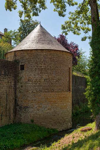 Lieutenants Mess Tower In Charlevillemézières Stock Photo - Download Image Now