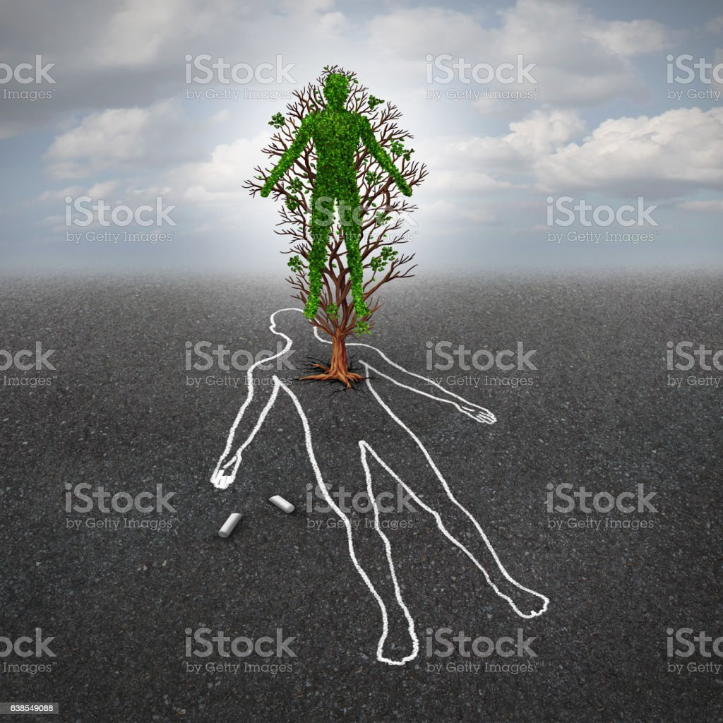 Life After Death stock photo