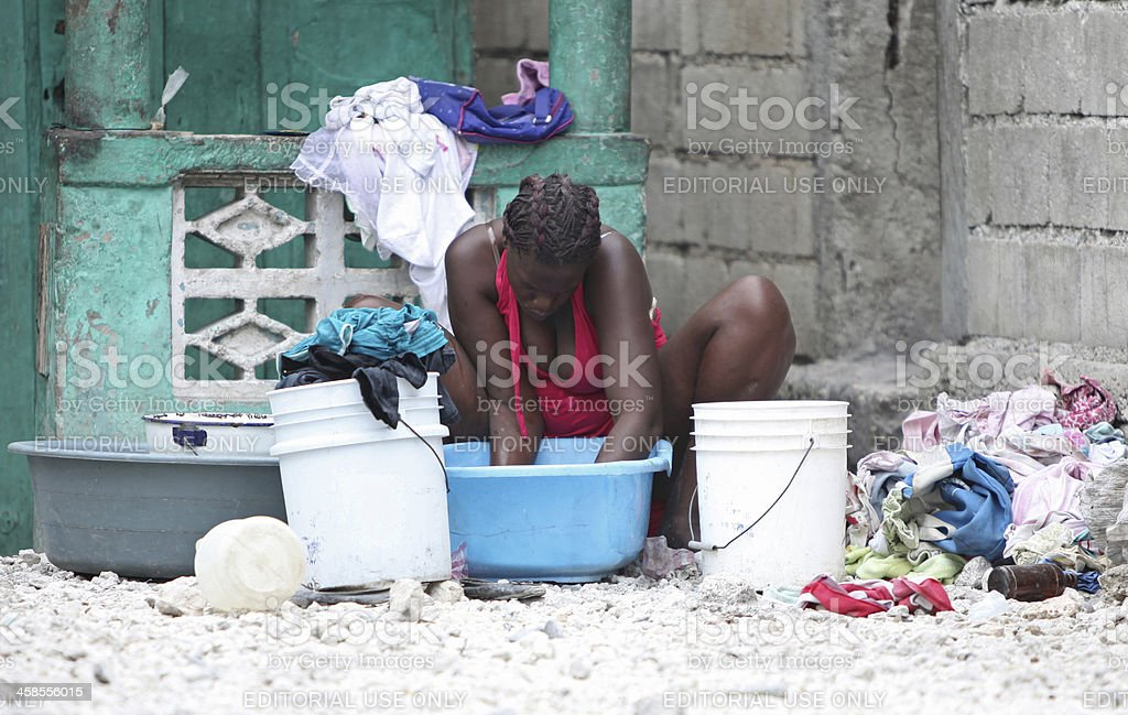 Life after the Earthquake, Haiti royalty-free stock photo