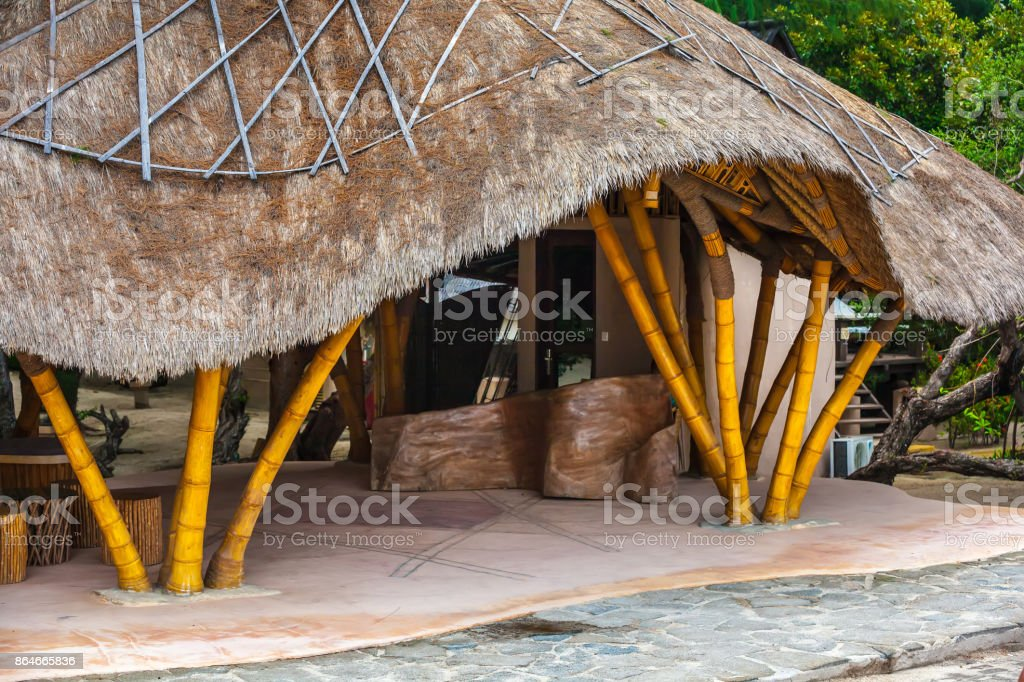 Life and interior items of the Gili Trawangan island, Indonesia. stock photo