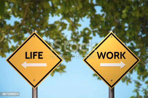 182362845 istock photo Life and Work Blanace 657336624