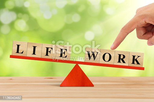 istock Life And Work 1126040452