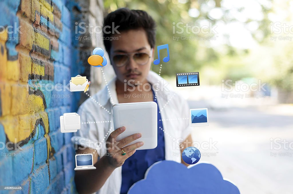 Life around Technology royalty-free stock photo