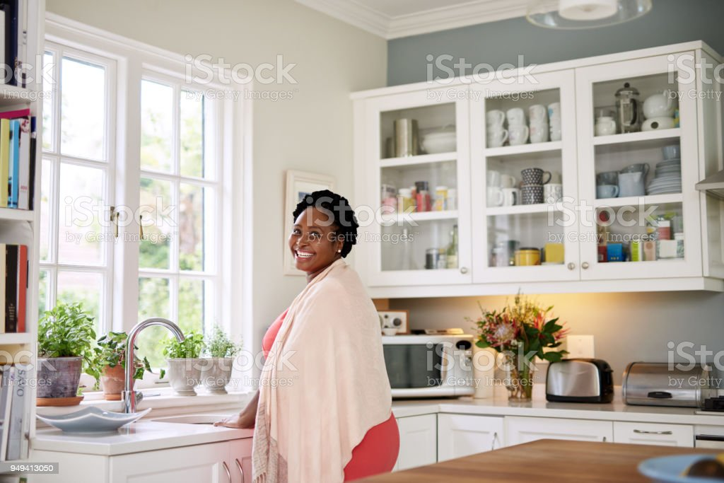 Life at home is simply great stock photo