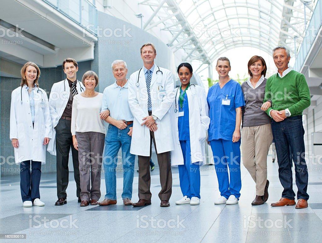 Life at the hospital stock photo