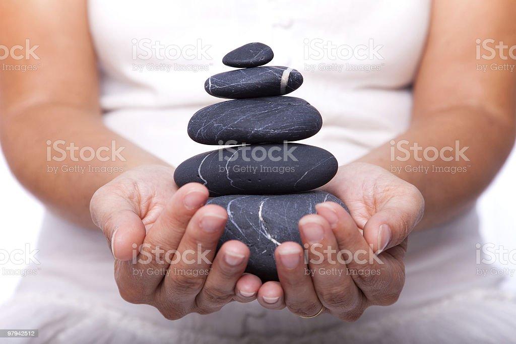 Life balance royalty-free stock photo