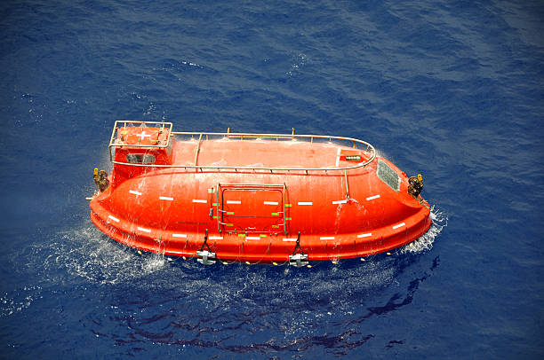 rettungsboot - versandrolle stock-fotos und bilder