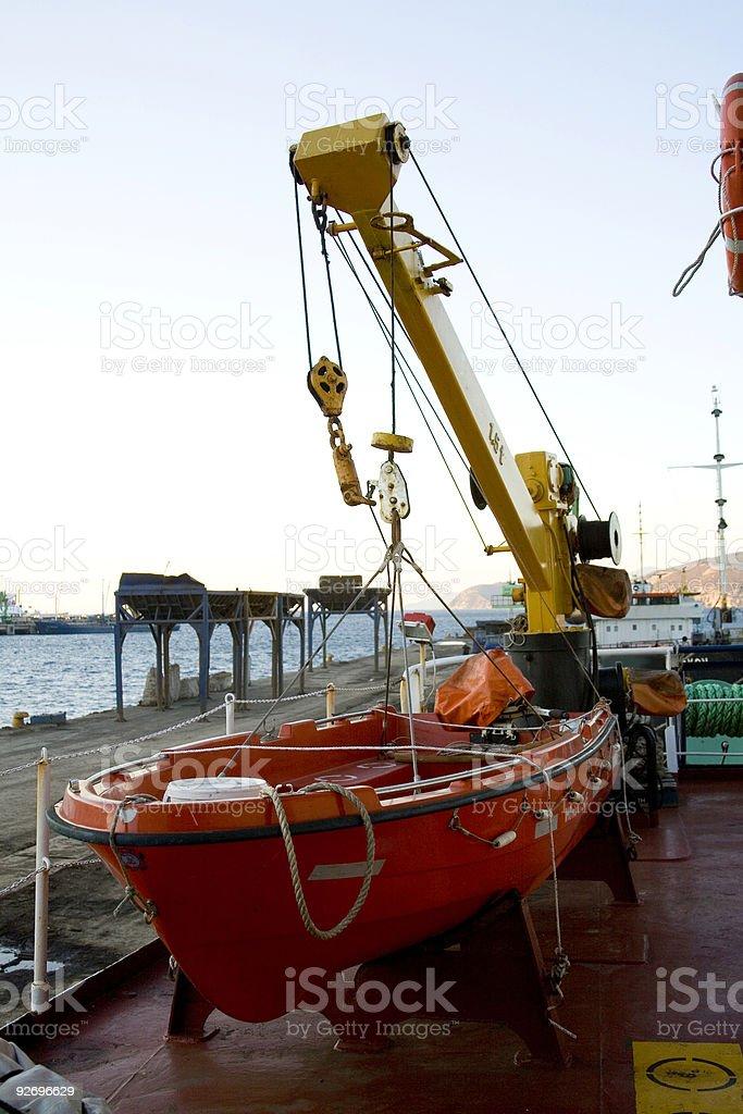 life boat royalty-free stock photo