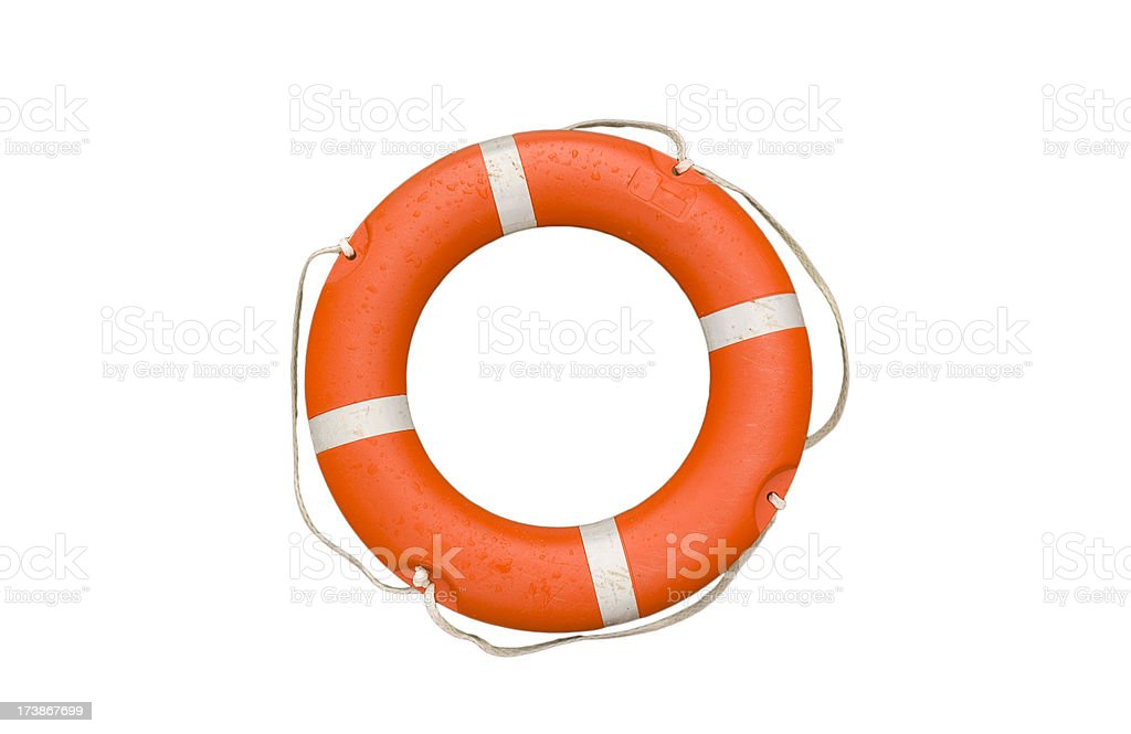 LIfe Bouy stock photo