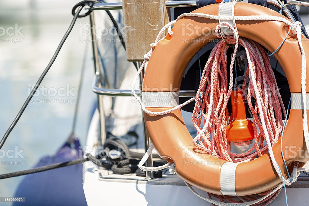 Life Buoy royalty-free stock photo