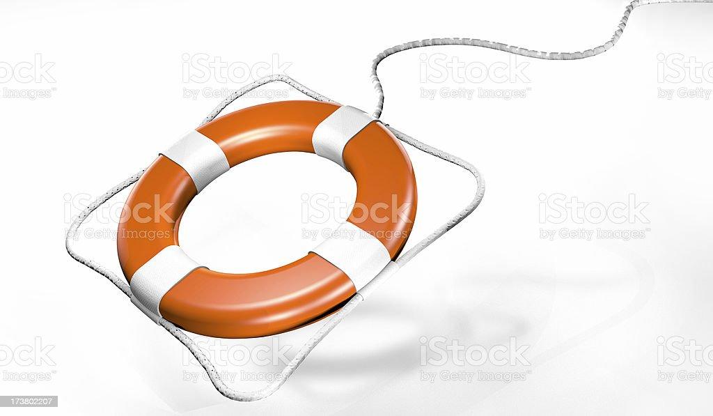 Life Buoy Rescue royalty-free stock photo