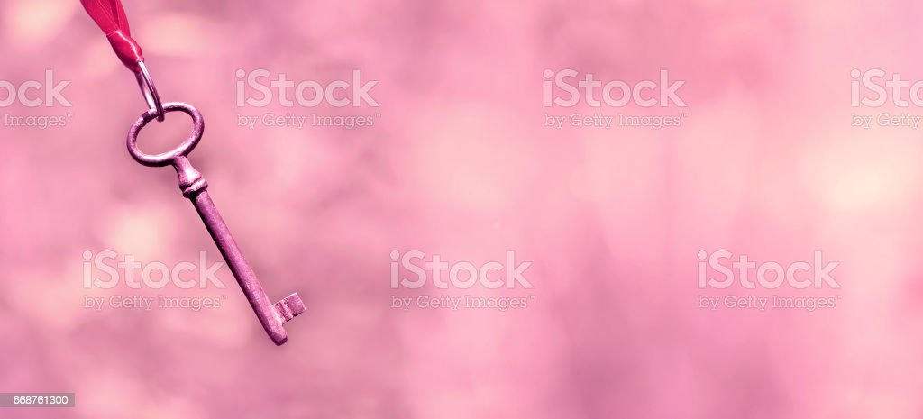 Life coaching banner in pink stock photo