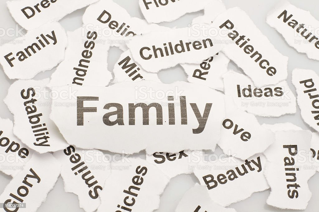 Life concept (family) royalty-free stock photo