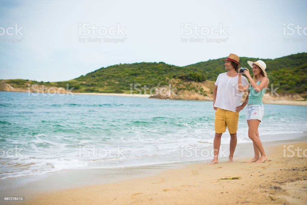 Life events and great memories from our honeymoon Lizenzfreies stock-foto
