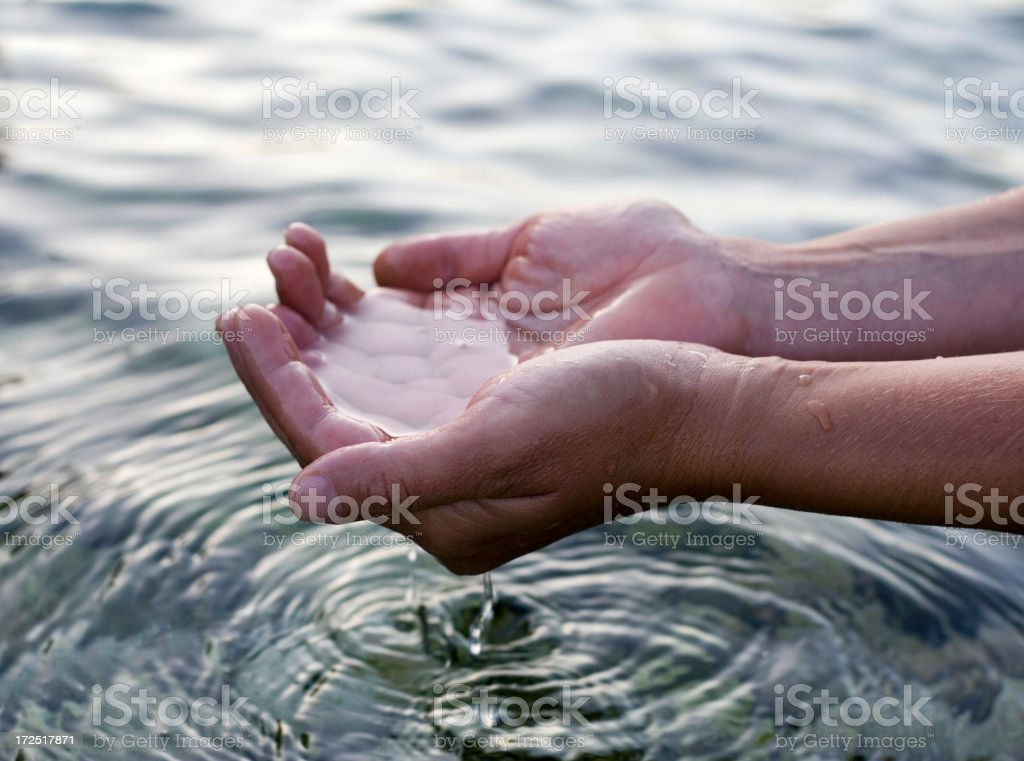 Life Giving Water royalty-free stock photo