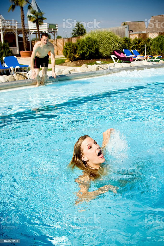 life guard royalty-free stock photo
