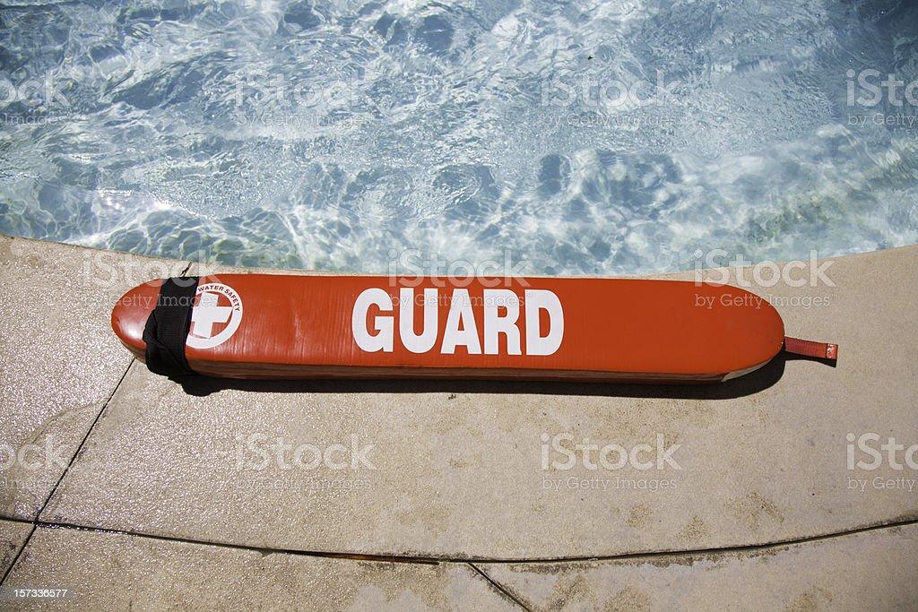 Life Guard Preserver stock photo