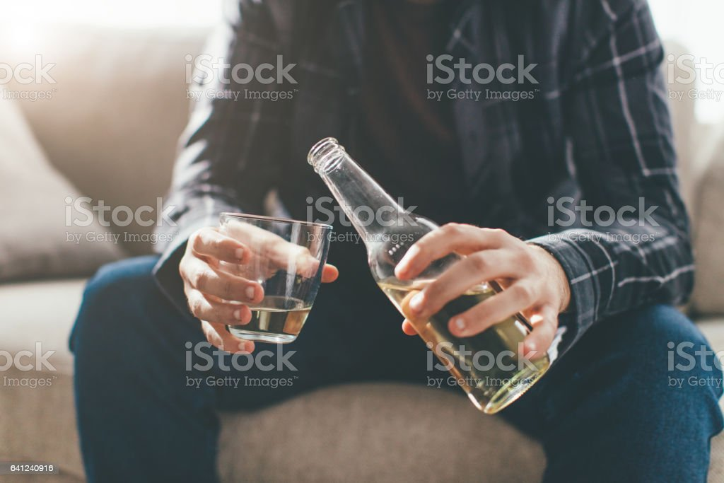 Life in bottle... stock photo
