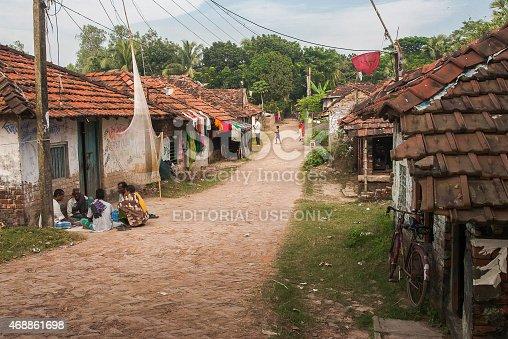 istock Life in rural India. 468861698