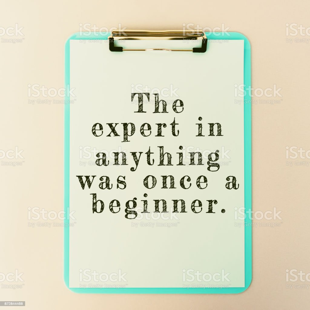 Life Inspiration Quote on Clipboard. stock photo