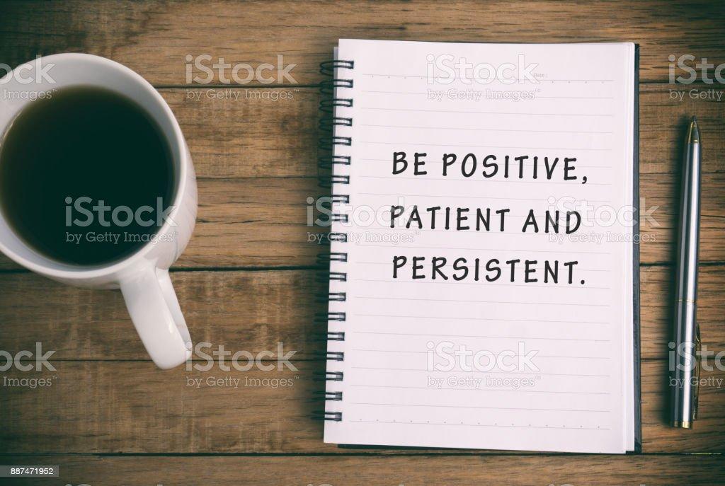 Life Inspirational Quote stock photo