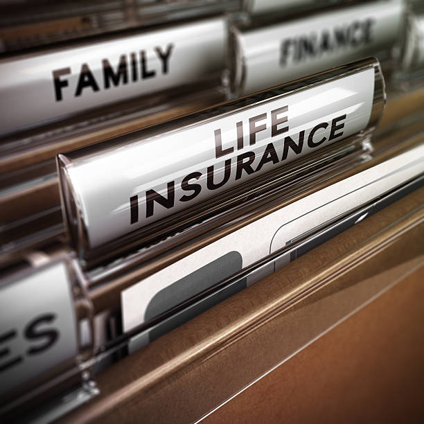 life insurance contract - life insurance stock pictures, royalty-free photos & images
