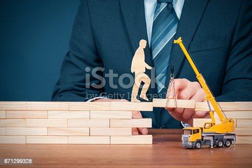 istock Life insurance, customer care, personal development 671299328