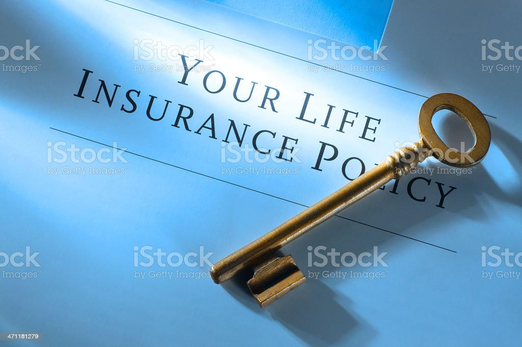 Life Insurance royalty-free stock photo
