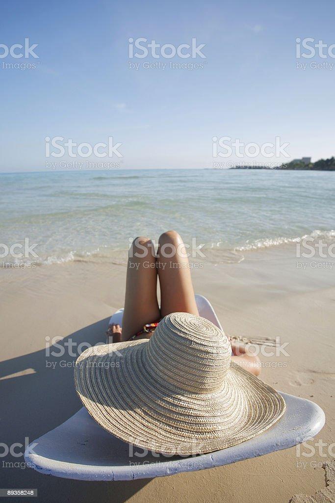 Life is a Beach royaltyfri bildbanksbilder