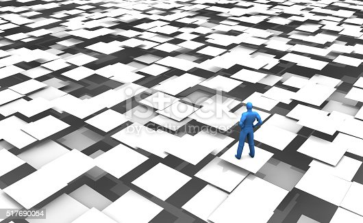 istock Life is a Difficult Game 517690054