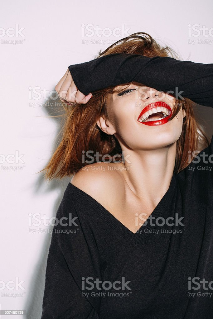 Life is a joke stock photo