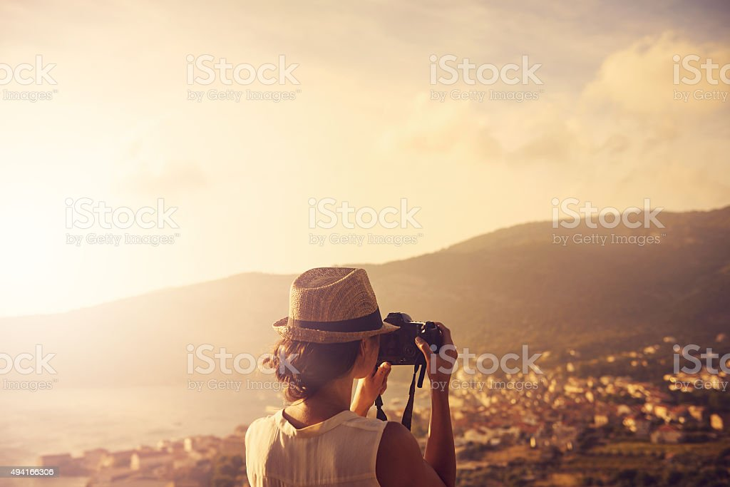 Life is a one time offer, use it well stock photo
