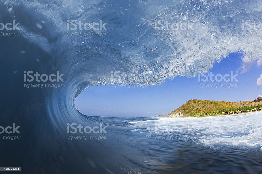 Life is Better in the Ocean stock photo