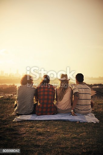 istock Life is better when we stick together 505568042