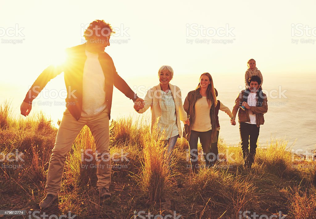 Life Is Either A Great Adventure Or Nothing At All Stock Photo