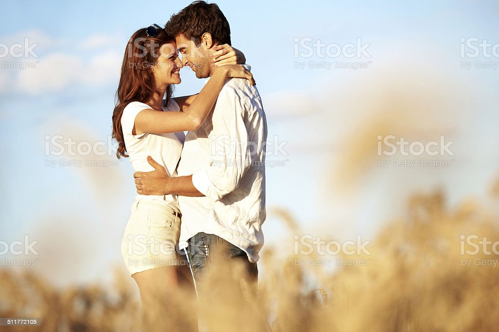 Life is for deep kisses and strange adventures stock photo