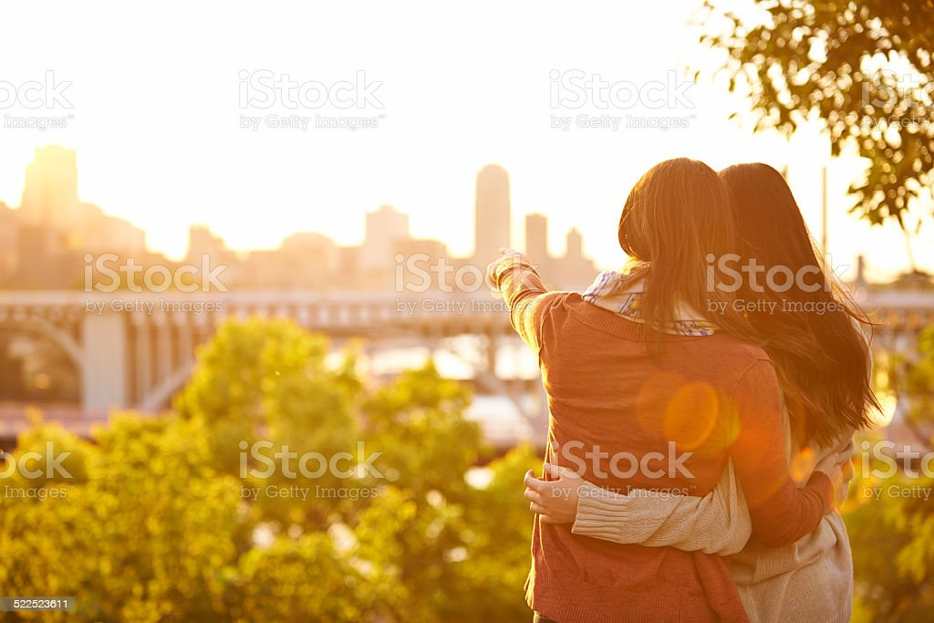 Life is nothing without friends stock photo